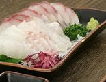 白身魚のお刺身