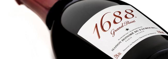 1688 フランス産 ノン・アルコール・スパークリング・ワイン 1688 グラン ロゼ & 1688 グラン ブラン-1