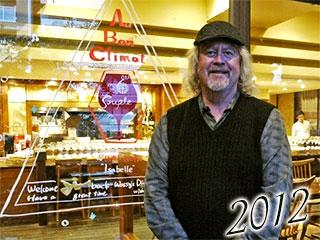 2012年オー・ボン・クリマ ジム・クレンデネン来店