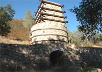 カレラの石灰焼き窯