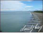 クラウディベイの湾