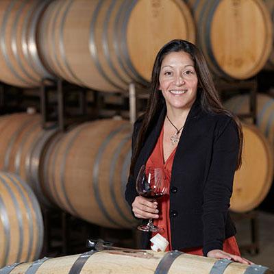 ギャリー ファレル醸造長のテレサ・ヘレディア