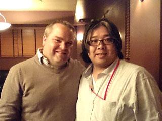 ヘスティア  オーナー兼ワインメーカー「シャノン・ジョーンズ」氏に副店長サトウがお会いしてきました♪