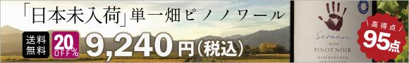 「日本未入荷」単一畑ピノノワール