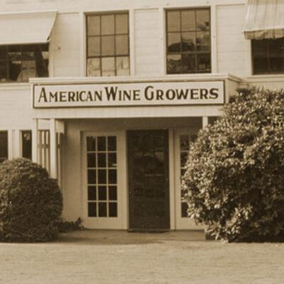 シャトー サン ミシェル(サンミッシェル )の前身、American Wine Growers