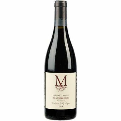 モンティノア エステート ピノ ノワール パーソンズ リッジ[2014] [ ワイン 赤ワイン オレゴンワイン ウィラメットヴァレー ]