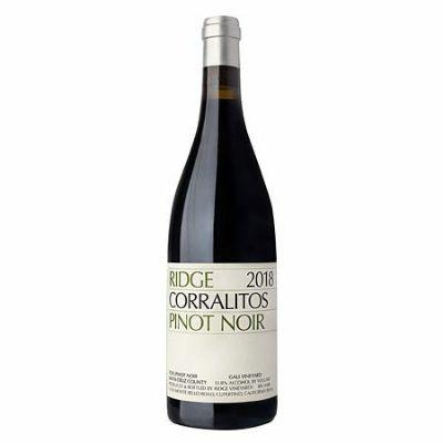 リッジ コラリトス ピノ ノワール[2018]   [ ワイン 赤ワイン カリフォルニアワイン サンタクリーズ ]